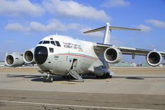 Πολεμική Αεροπορία του Κουβέιτ Στοκ φωτογραφία με δικαίωμα ελεύθερης χρήσης