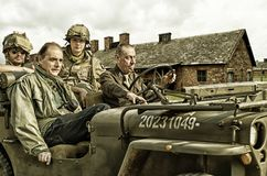 πολεμικός δημοσιογράφος Στοκ Εικόνες