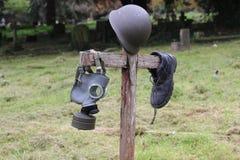 Πολεμικός τάφος Στοκ φωτογραφίες με δικαίωμα ελεύθερης χρήσης