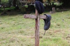 Πολεμικός τάφος Στοκ φωτογραφία με δικαίωμα ελεύθερης χρήσης