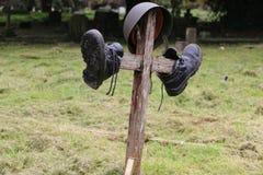 Πολεμικός τάφος Στοκ Εικόνες
