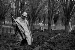 Πολεμικό μνημείο παλαιμάχων του Βιετνάμ στοκ φωτογραφία με δικαίωμα ελεύθερης χρήσης