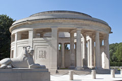 Πολεμικό μνημείο σε Ploegsteert στοκ φωτογραφία