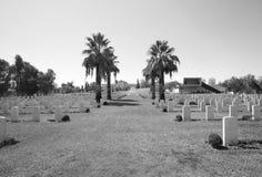 Πολεμικό νεκροταφείο Beersheba στοκ φωτογραφία με δικαίωμα ελεύθερης χρήσης