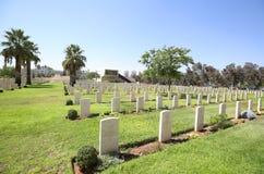 Πολεμικό νεκροταφείο Beersheba στοκ εικόνες
