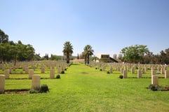 Πολεμικό νεκροταφείο Beersheba στοκ εικόνα