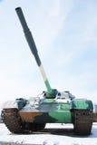 πολεμικό όπλο δεξαμενών Στοκ Εικόνα