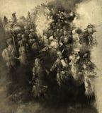 πολεμιστές Στοκ Εικόνες