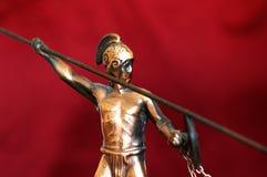 πολεμιστής αρχαίου Έλλη&n Στοκ φωτογραφία με δικαίωμα ελεύθερης χρήσης