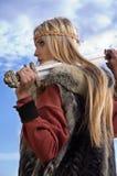πολεμιστής Βίκινγκ κορι&t Στοκ φωτογραφίες με δικαίωμα ελεύθερης χρήσης