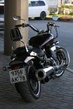 Πολεμιστής οδικών αστεριών Yamaha XV1700PC μοτοσικλετών υποστηρίξτε την όψη στοκ εικόνα
