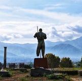Πολεμιστής της Πομπηίας στοκ εικόνες