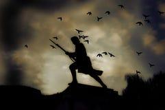 πολεμιστής στοκ φωτογραφίες με δικαίωμα ελεύθερης χρήσης