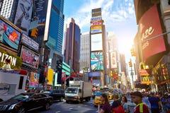 ΠΟΛΗ ΤΗΣ ΝΕΑΣ ΥΌΡΚΗΣ - 14 ΙΟΥΝΊΟΥ 2016: Times Square ΗΠΑ Στοκ Φωτογραφίες