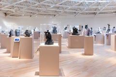 ΠΟΛΗ ΤΟΥ ΜΕΞΙΚΟΎ - 1 ΝΟΕΜΒΡΊΟΥ 2016: Εσωτερικό Rodin Scultures του μουσείου Soumaya Στοκ εικόνα με δικαίωμα ελεύθερης χρήσης