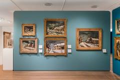ΠΟΛΗ ΤΟΥ ΜΕΞΙΚΟΎ - 1 ΝΟΕΜΒΡΊΟΥ 2016: Παλιοί δάσκαλοι μέσα στο εσωτερικό του μουσείου Soumaya Στοκ εικόνες με δικαίωμα ελεύθερης χρήσης