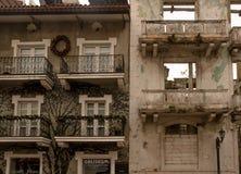 ΠΟΛΗ ΤΟΥ ΠΑΝΑΜΑ, ΠΑΝΑΜΑΣ - 20 ΑΠΡΙΛΊΟΥ 2018: Παλαιό κτήριο στην αναδημιουργία στο παλαιό μέρος της πόλης στοκ εικόνες με δικαίωμα ελεύθερης χρήσης