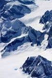 πολικές κορυφές βουνών Στοκ Εικόνες