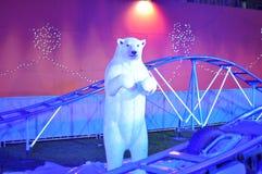 Πολική αρκούδα - από το έδαφος Santa, Εδιμβούργο Στοκ εικόνα με δικαίωμα ελεύθερης χρήσης