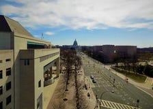 Πολιτεία Capitol από το Newseum Στοκ Εικόνες