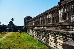 Πολιτισμός της Καμπότζης ναών Angkor wat Στοκ φωτογραφία με δικαίωμα ελεύθερης χρήσης