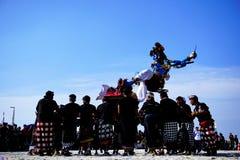 Πολιτιστικό φεστιβάλ στην παραλία Στοκ Φωτογραφίες