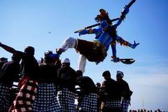 Πολιτιστικό φεστιβάλ στην παραλία Στοκ εικόνα με δικαίωμα ελεύθερης χρήσης