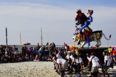 Πολιτιστικό φεστιβάλ στην παραλία Στοκ Φωτογραφία
