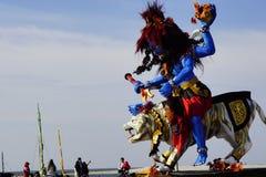 Πολιτιστικό φεστιβάλ στην παραλία Στοκ φωτογραφία με δικαίωμα ελεύθερης χρήσης