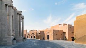 Πολιτιστικό χωριό Katara με το πολυ αμφιθέατρο αιθουσών σκοπού, Doha, Κατάρ στοκ φωτογραφίες με δικαίωμα ελεύθερης χρήσης