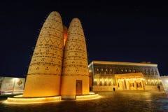 Πολιτιστικό χωριό Katara, Doha, Κατάρ Στοκ εικόνες με δικαίωμα ελεύθερης χρήσης