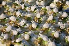Πολλά από τα κιβώτια γαμήλιων δώρων στοκ φωτογραφίες