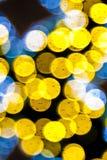 Πολλά ζωηρόχρωμα αφηρημένα σημεία του φωτός Στοκ Εικόνες