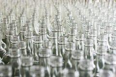 Πολλά κενά μπουκάλια γυαλιού Στοκ Εικόνες