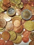 Πολλά νομίσματα Στοκ Φωτογραφίες