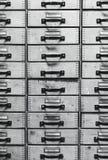 Πολλά παλαιά συρτάρια στοκ εικόνα με δικαίωμα ελεύθερης χρήσης