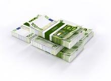 Πολλά χρήματα στον άσπρο πίνακα διανυσματική απεικόνιση