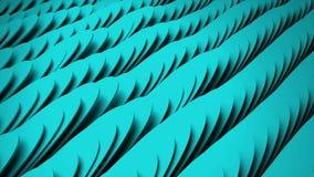 Πολλές αφηρημένες μορφές όπως τα φτερά, οπτική παραίσθηση ως κύματα θάλασσας, isometric υπόβαθρο, τρισδιάστατο δίνουν το σκηνικό απεικόνιση αποθεμάτων