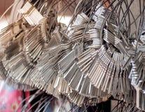 Πολλές βασικές δέσμες αλυσίδων Στοκ Εικόνα