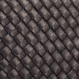 Πολλές λεπτές λουρίδες του φυσικού μαύρου δέρματος στοκ φωτογραφία
