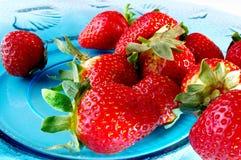 πολλές φράουλες Στοκ φωτογραφία με δικαίωμα ελεύθερης χρήσης