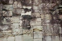 Πολλαπλάσιες αρχαίες γλυπτικές Καμπότζη πετρών Στοκ φωτογραφία με δικαίωμα ελεύθερης χρήσης
