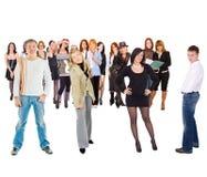 πολλοί εμείς Στοκ φωτογραφία με δικαίωμα ελεύθερης χρήσης