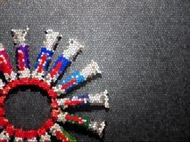 Πολλοί πολύχρωμοι σωλήνες με τα watercolors στοκ φωτογραφίες με δικαίωμα ελεύθερης χρήσης
