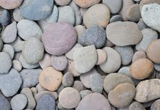 Πολλοί χρώμα του βράχου αμμοχάλικου, υπόβαθρο στοκ εικόνες με δικαίωμα ελεύθερης χρήσης
