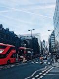 Πολυάσχολη, επισπεύδοντας πόλη στοκ εικόνα με δικαίωμα ελεύθερης χρήσης