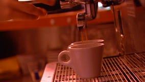 Πολυάσχολος καφές απόθεμα βίντεο