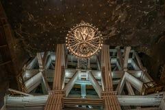 Πολυέλαιος αλατισμένου ορυχείου Στοκ Εικόνα