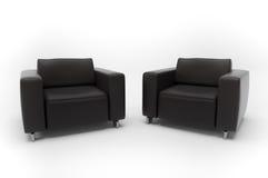 πολυθρόνες δύο Στοκ εικόνες με δικαίωμα ελεύθερης χρήσης