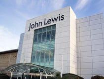 Πολυκατάστημα του John Lewis στο υπερυψωμένο μονοπάτι Cribbs Στοκ Εικόνες